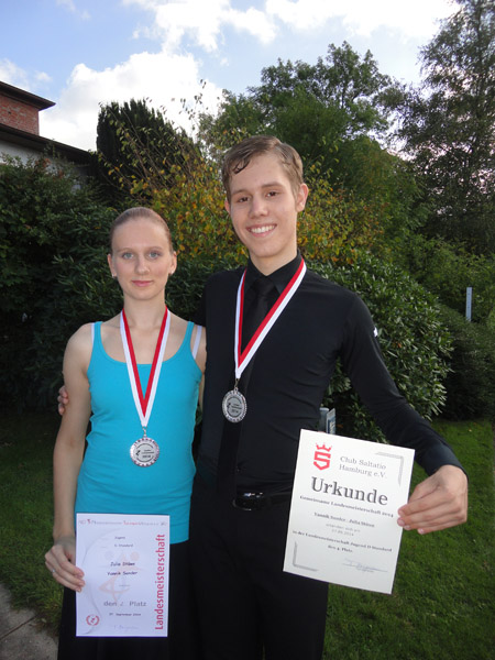 Yannik Sander und Julia Stüwe