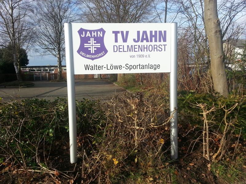 Jahn Anlagenschild