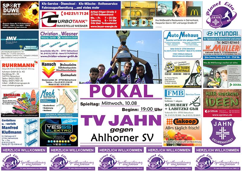 Plakat Pokal Ahlhorn